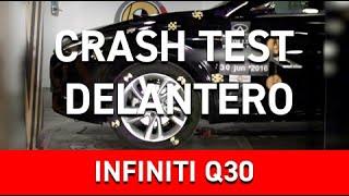 Crash Test Delantero Infiniti Q30