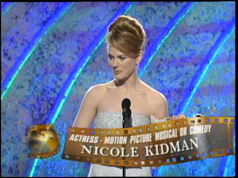 Golden Globes 1996 Nicole Kidman Best actress