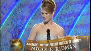 Golden Globes 1996 Nicole Kidman Best actress