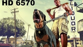 GTA V Gameplay Pc  AMD HD 6570
