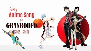 Download Lagu Every Anime Song by GRANRODEO (2005-2018) Gratis STAFABAND