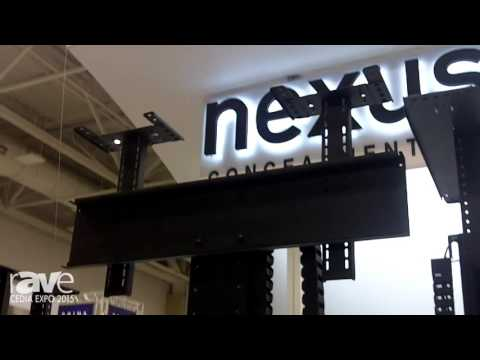 CEDIA 2015: Nexus21 Demos the Model L-75 for Extreme TV Motorized Extension