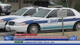 Authorities brace for possible severe weather in Cumberland County