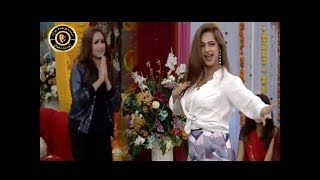 Noor & Faryal Dance Performance on Hamma Hamma In Morning Show