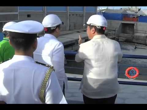 http://rtvm.gov.ph - Inauguration of the First 100 Million Liters per day Water treatment Plant