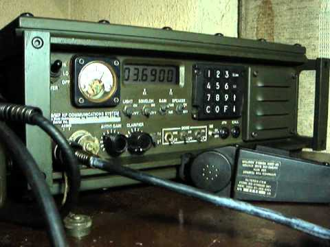 Military Radio Datron Transworld  RT100/MP with TransDap and ALE