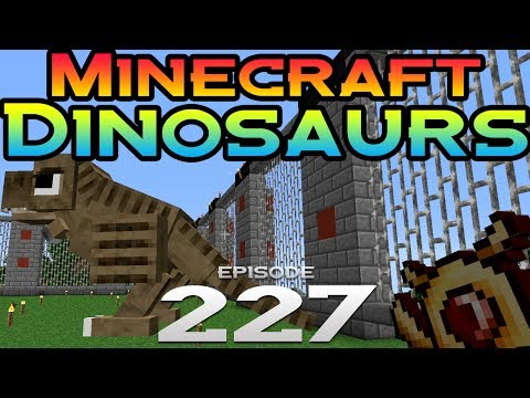 Minecraft Dinosaurs Episode 227 Ride a TRex