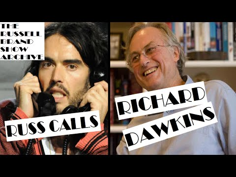 Russell Brand calls Richard Dawkins, best known for his work in evolutionary biology and books such as The Selfish Gene and The God Delusion and his advocacy of atheism and science, for a phone...
