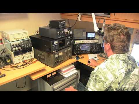 Icom IC-7700, Dave N2LZ Maritime mobile