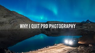 Professional Photography: Why I quit.