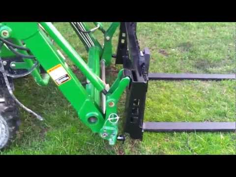 John Deer Loader Forks from Extreme Metal Products.com