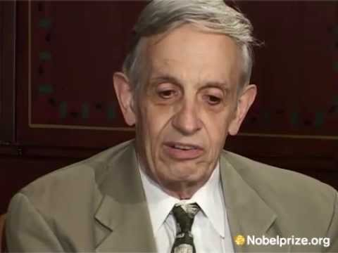 """I have many memories."" John Nash on his Nobel Week experience"