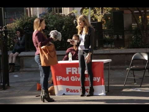 Terms and Conditions Social Experiment / Prank