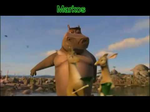 Canta Moto Moto - Madagascar 2 video