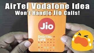 Reliance Jio Update - AirTel, Vodafone & Idea are BLOCKING Incoming Calls!