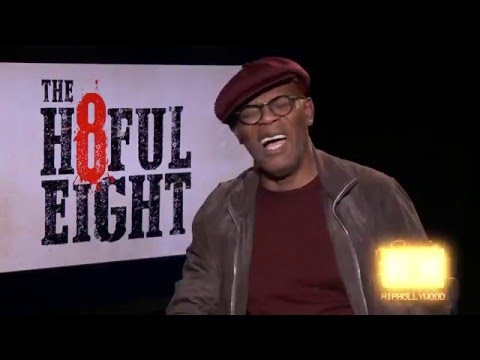 Samuel L Jackson Defends Quentin Tarrentino's use of the N word inThe Hateful Eight