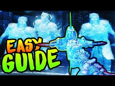 'ICE STAFF' ORIGINS Tutorial - How To Build ICE Staff & Upgrade in Zombies Chronicles!