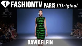Davidelfin Spring/Summer 2015 | Mercedes-Benz Fashion Week Madrid | FashionTV