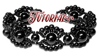 Tutorial: Vintage beaded bracelet