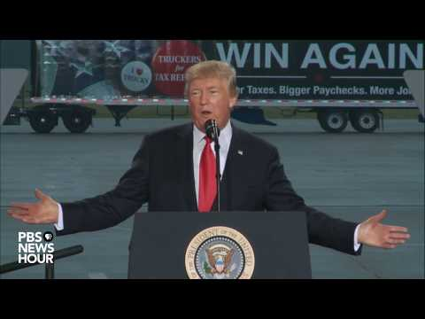 WATCH LIVE: President Trump discusses tax reform in Harrisburg, PA