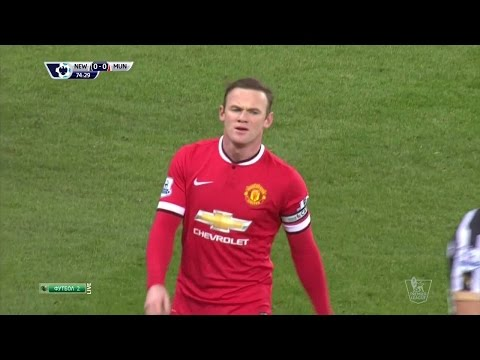 Wayne Rooney vs Newcastle United Away HD 720p50fps (04/03/2015) by WayneRooney10i