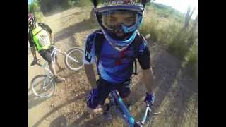 Gopro Hero 3 | Arm pole on bike helmet test