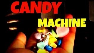 HOMEMADE CANDY MACHINE!