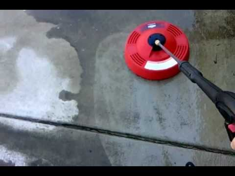 Briggs & Stratton Rotating Surface Cleaner # 6178 Demo