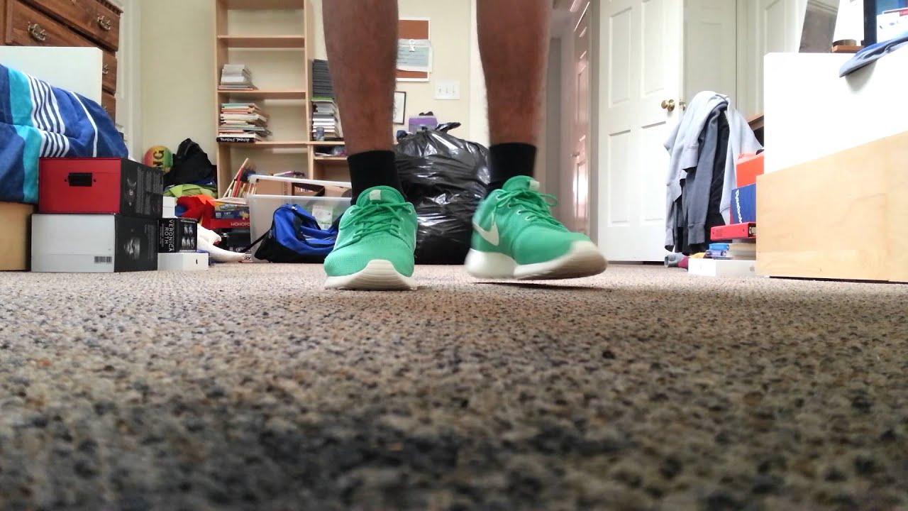 Green Sail Roshe Runs Nike Roshe Run Gamna Green on