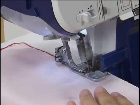 Оверлок BROTHER 4234D - инструкция по заправке и шитью