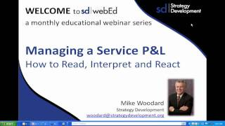 Part 1 of 3_ Manage a Service P&L -- How to read, interpret and react