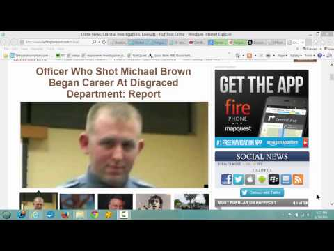Killer Police Darren Wilson Who Shot Michael Brown Long Known Racist