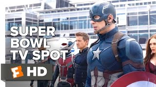 Video clip Captain America: Civil War Official Super Bowl TV Spot (2016) - Chris Evans Movie HD