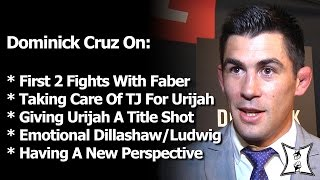 "Dominick Cruz Took Care of Urijah's ""Grandson"" TJ; Now He's Blessing Faber With Another Title Shot"