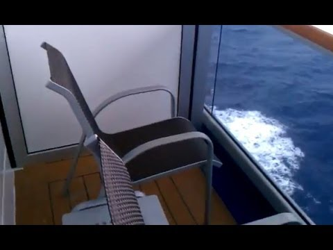 Cruise ship Carnival Splendor Balcony Room 8367