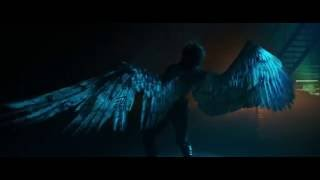 Warren Worthington III/Angel wing transformation (X-Men: Apocalypse)