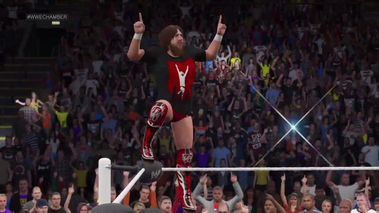 WWE 2K15 Daniel Bryan ...