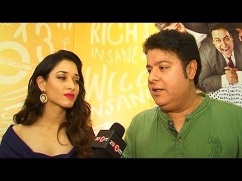 Sajid Khan & Tamannaah Bhatia's EXCLUSIVE Interview