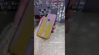 Чехол Meephone 0.5mm для iPhone XS Max Золотисто-фиолетовый оттенок