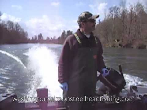 Cowlitz River Steelhead Fishing With Mike