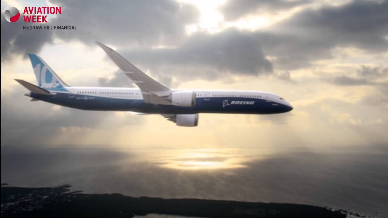 Paris air show 2013 boeing 787 10 launched youtube