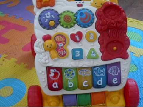 Vtech First Steps Baby Walker And Alphabet Amp Number Puzzle