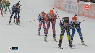 Biathlon World Championships 2016 Oslo (Norway):  Mixed Relay 03-03-16