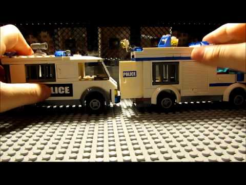 Lego city Prisoner transport Review 7286