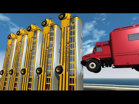 BeamNG Drive INSANE CRASHES #60
