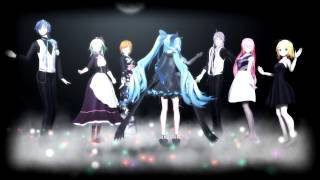 MMD Vocaloid Eight:Crazy ∞ nighT