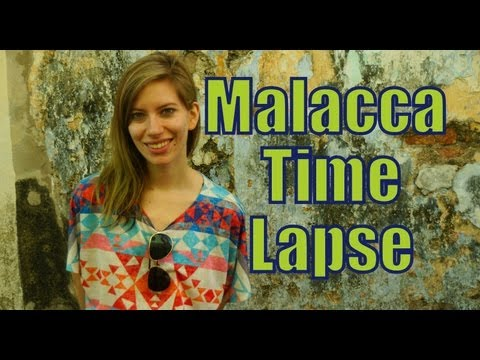 Malacca Time Lapse Travel Video in Melaka, Malaysia