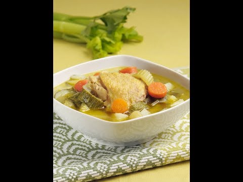 Caldo de pollo - Chicken Soup
