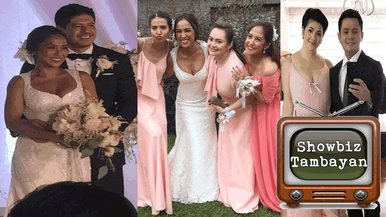 Star-studded Wedding of Rochelle Pangilinan and Arthur Solinap + Regine song number!