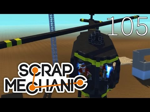 Scrap Mechanic [#105] Map Co-Op by Venox (Mapa Widza)